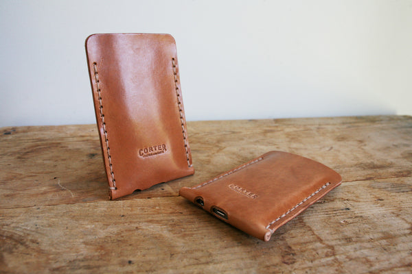 iPhone 5 Sleeve (Saddle Tan)