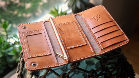 PATTERN: Trifold Long Wallet