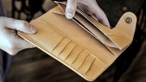 PATTERN: Hidden Pocket Moto Wallet