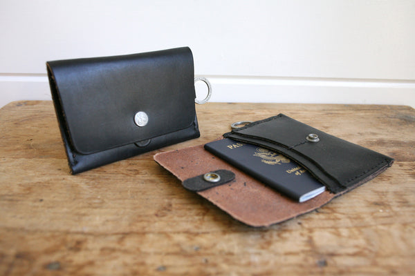 Travel Wallet (Black)