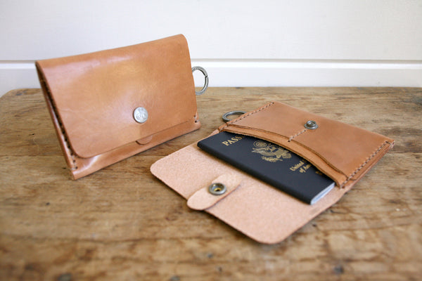Travel Wallet (Saddle Tan)