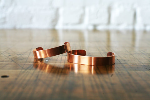 Handmade Copper Cuff