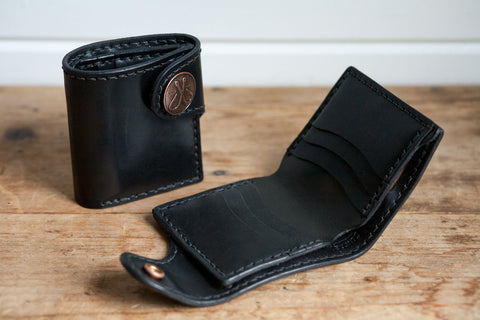 Snap Wallet (Triple Black)