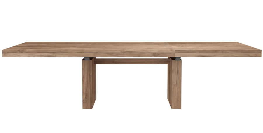 Double Extendable Dining Table - Teak