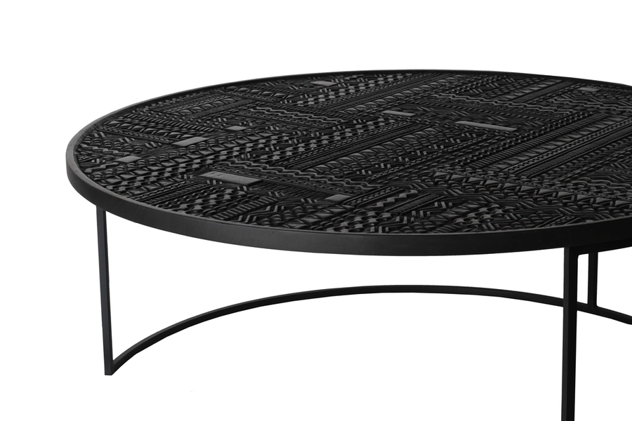 Tabwa Round Nesting Coffee Table