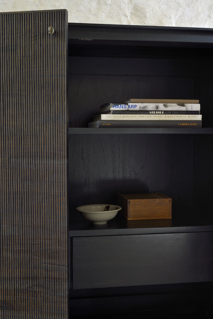 Grooves Storage Cupboard
