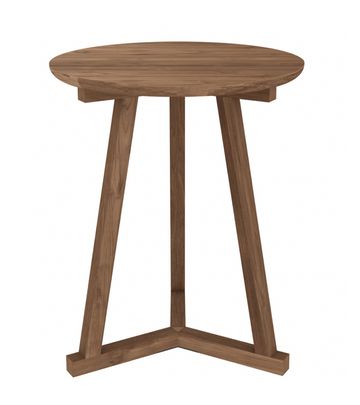 Tripod Side Table - Teak