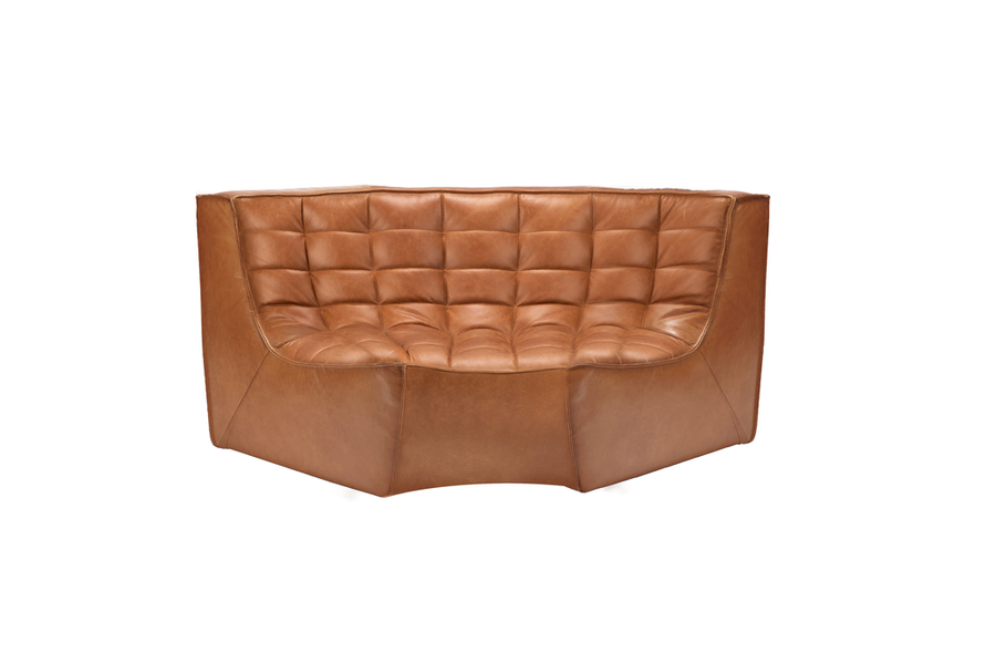 N701 Sectional Sofa - Old Saddle