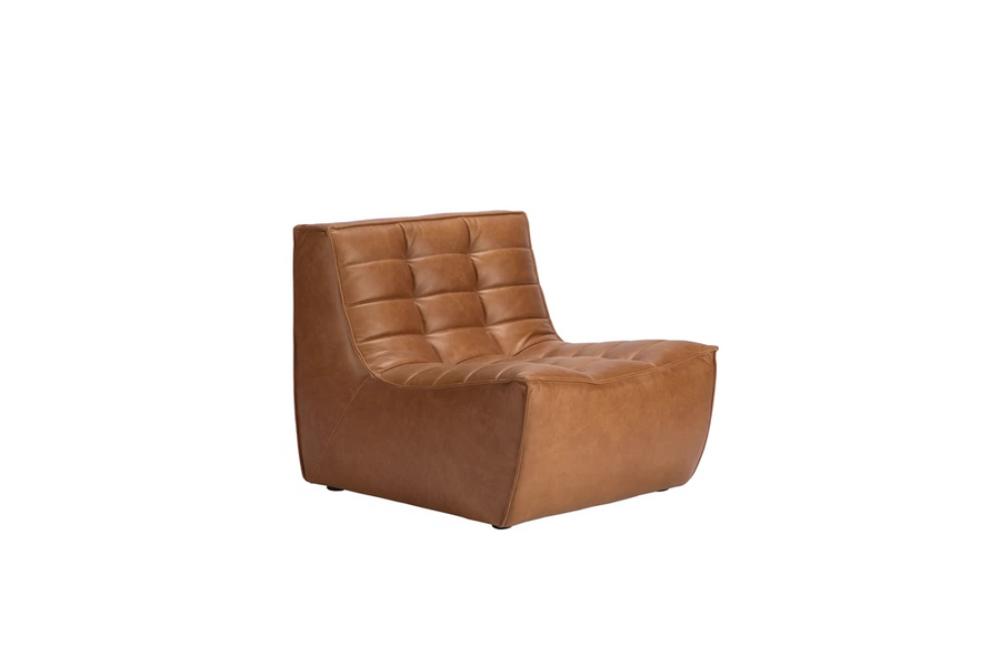 N701 Sectional Sofa - Leather