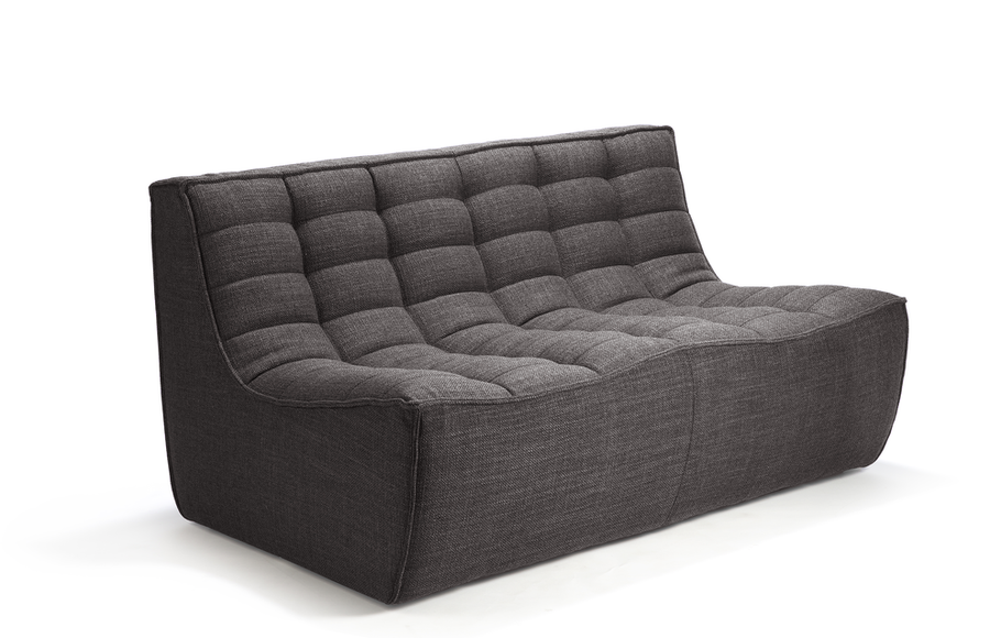 N701 Sectional Sofa - Dark Grey
