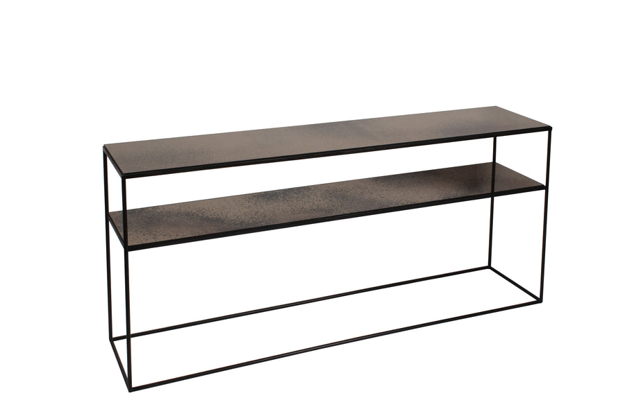 Sofa Console - Bronze Copper