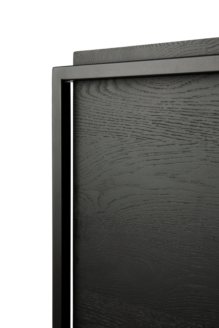 Monolit Sideboard - Black Oak with Black