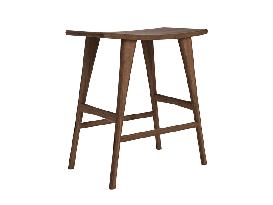 Osso Counter Stool - Walnut