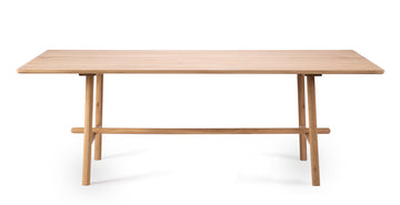Profile Dining Table - Oak