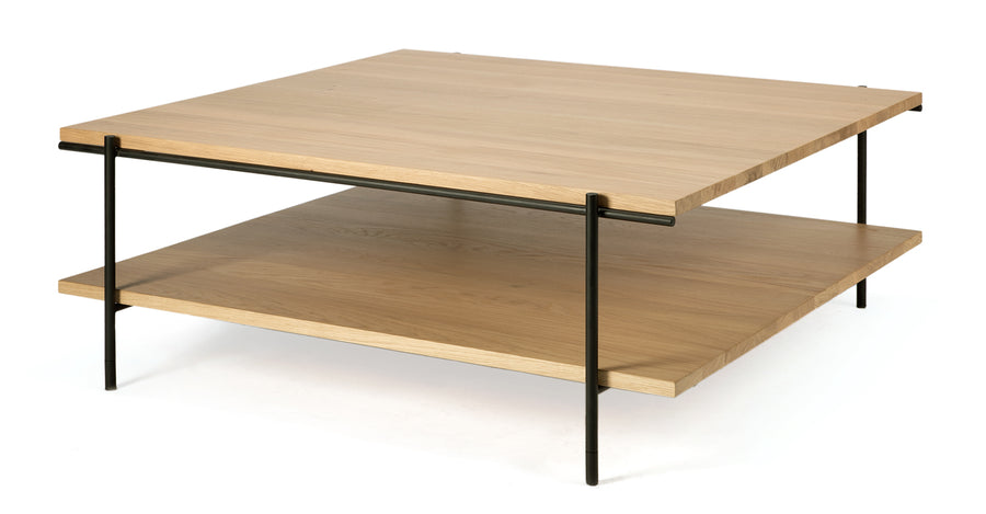 Rise Square Coffee Table - Oak