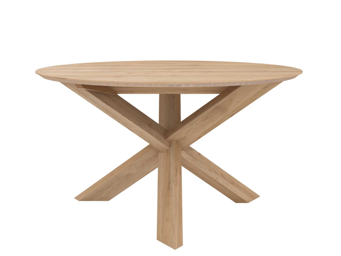 Circle Dining Table - Oak