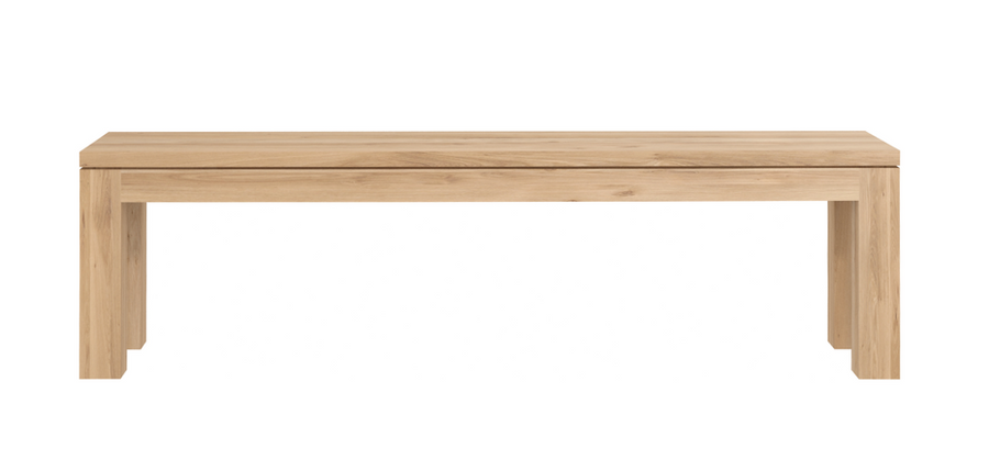 Straight Bench - Oak