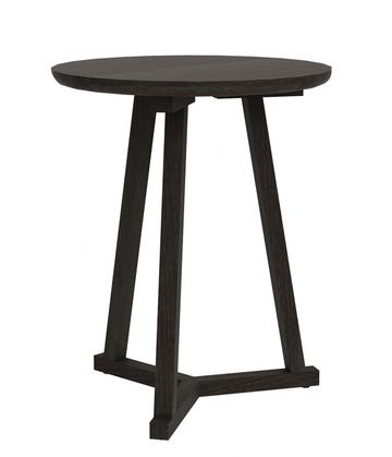 Tripod Side Table - Black