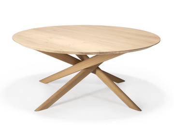 Mikado Oval Coffee Table - Oak
