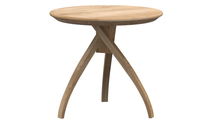 Twist Side Table - Oak