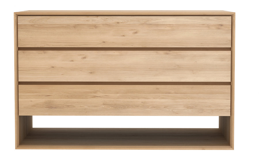 Nordic Chest of Drawers/Dresser - Oak