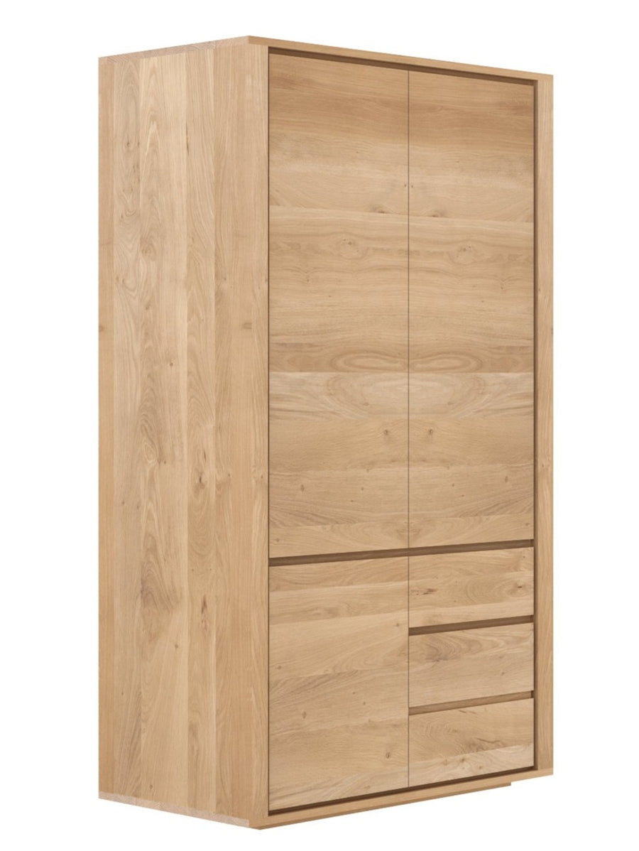 Shadow Wardrobe/Dresser - Oak