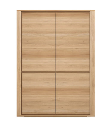 Shadow Storage Cupboard - Oak