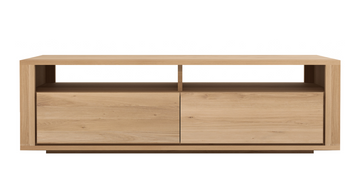 Shadow Media Cabinet 2 drawers - Oak