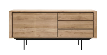 Shadow Sideboard with Black Base - 2 Doors