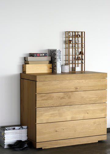 Burger Chest of Drawers/Dresser - Oak