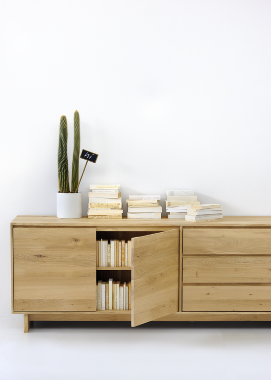 Wave Sideboard - Oak