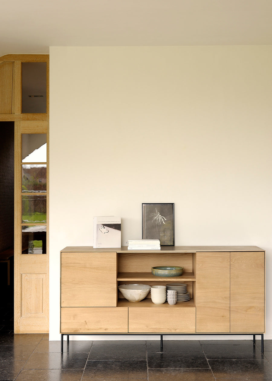 Whitebird Sideboard - 3 Doors + 2 Drawers