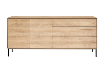 Whitebird Sideboard - 2 Doors + 3 Drawers
