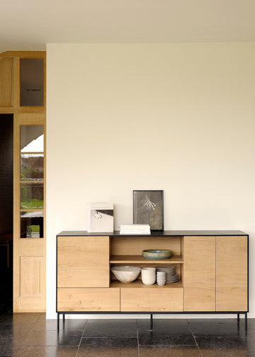 Blackbird Sideboard - 3 Doors + 2 Drawers