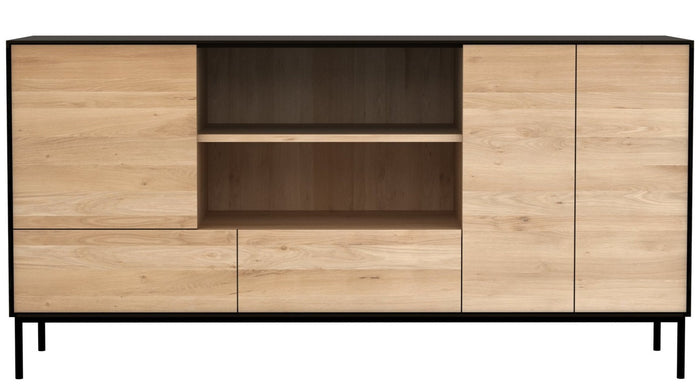 Blackbird Open Sideboard - Oak