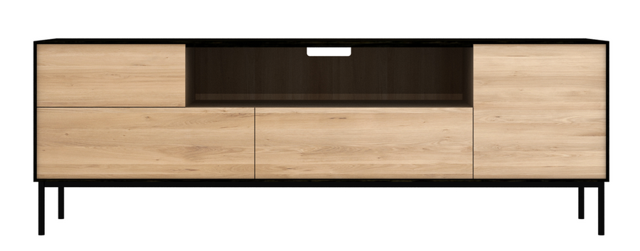 Blackbird Media Cabinet - Oak