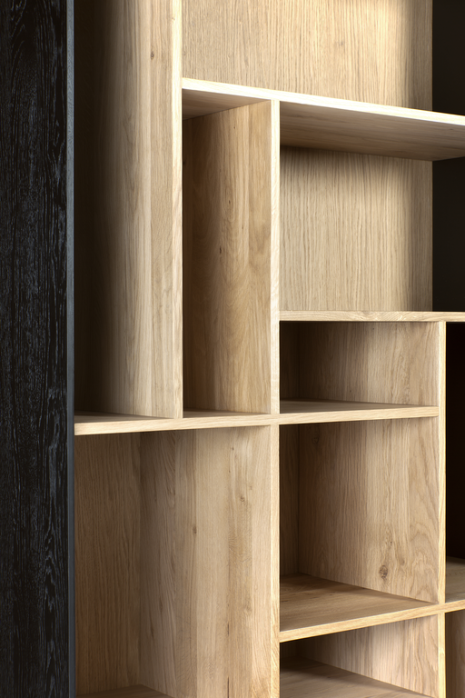 Blackbird Bookshelf - Oak