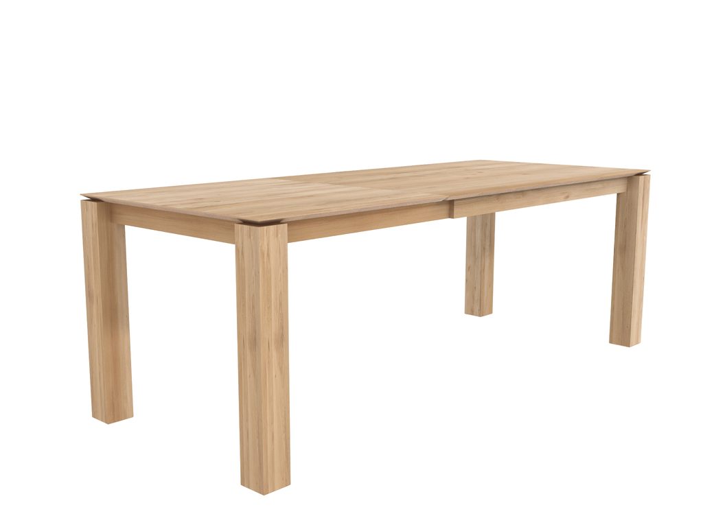 Slice Extendable Dining Table - Oak