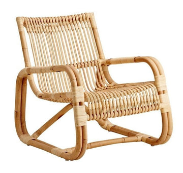 Curve Lounge Chair - Rattan / Indoor
