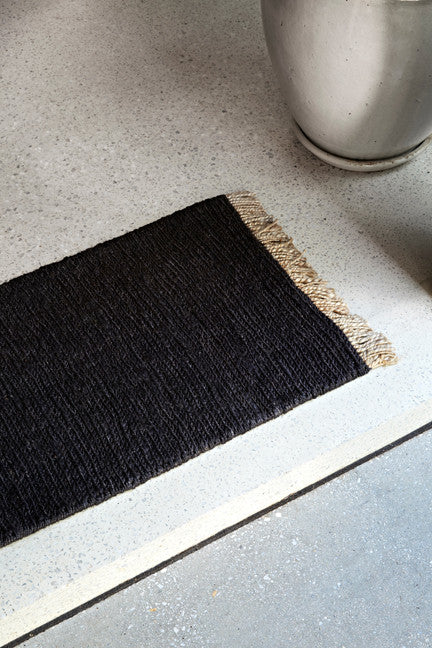 Sahara Weave Entrance Mat - Charcoal
