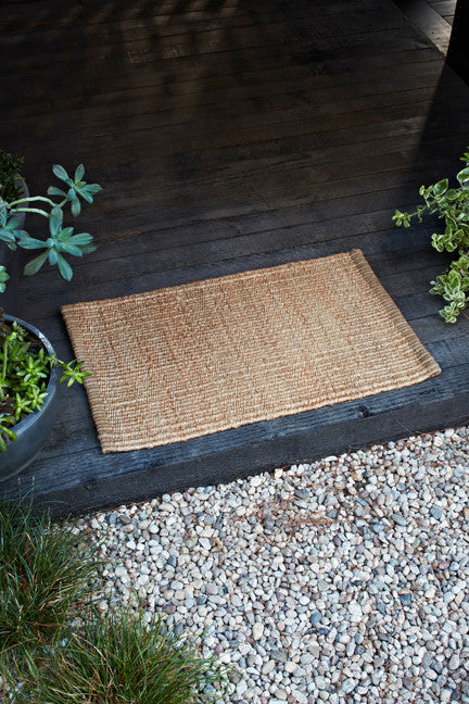 Nest Weave Entrance Mat - Natural
