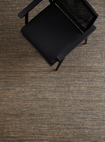 Drift Weave Rug - Natural & Black