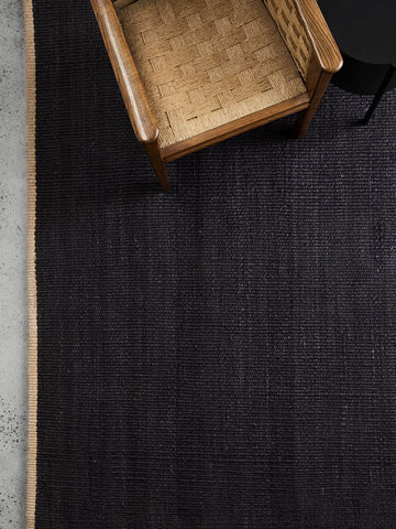 Nest Weave Rug - Charcoal