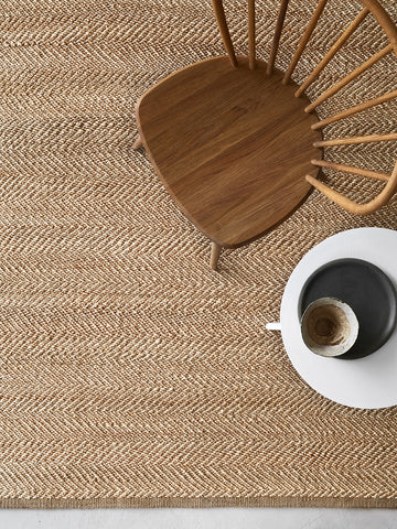 Serengeti Weave Rug - Natural & Ivory