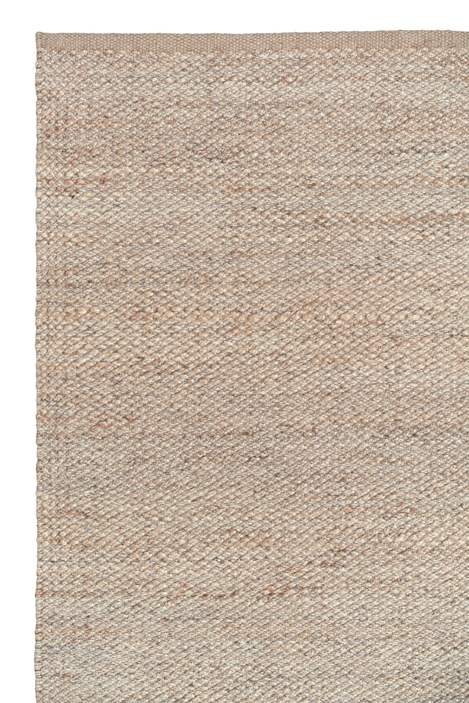 KITCHEN MAT RIDGE WEAVE - Natural & Pumice