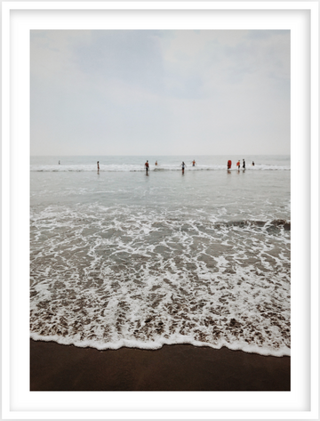 Beach 02, Framed Photograph by Laleh Latini
