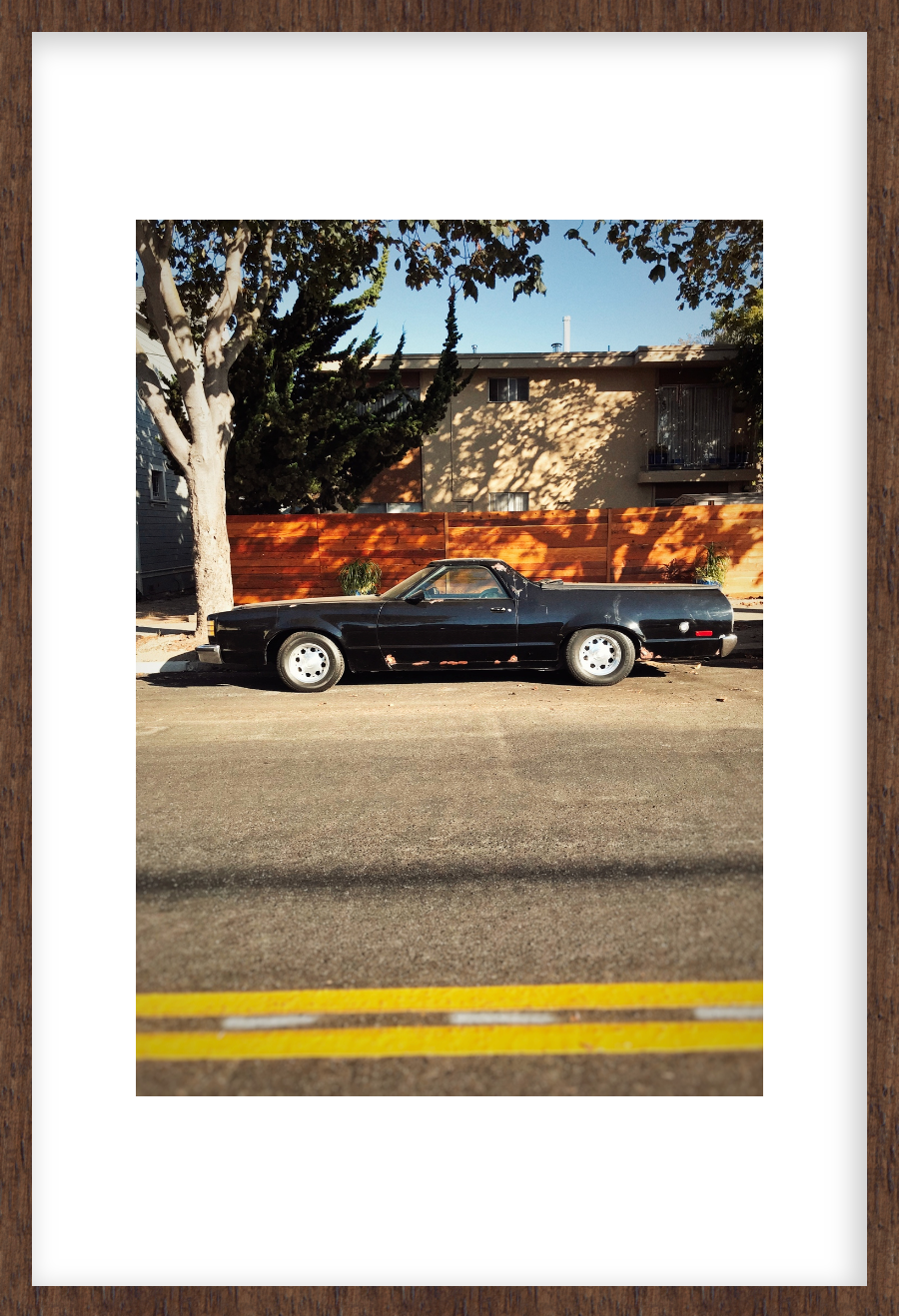 Cars 06, Framed Photograph by Laleh Latini