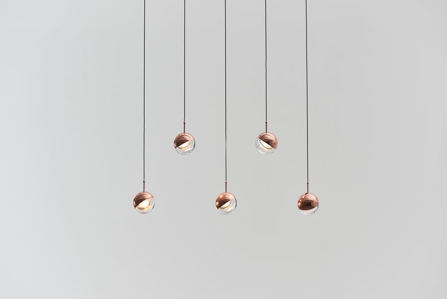 Dora 5 Pendant - Copper