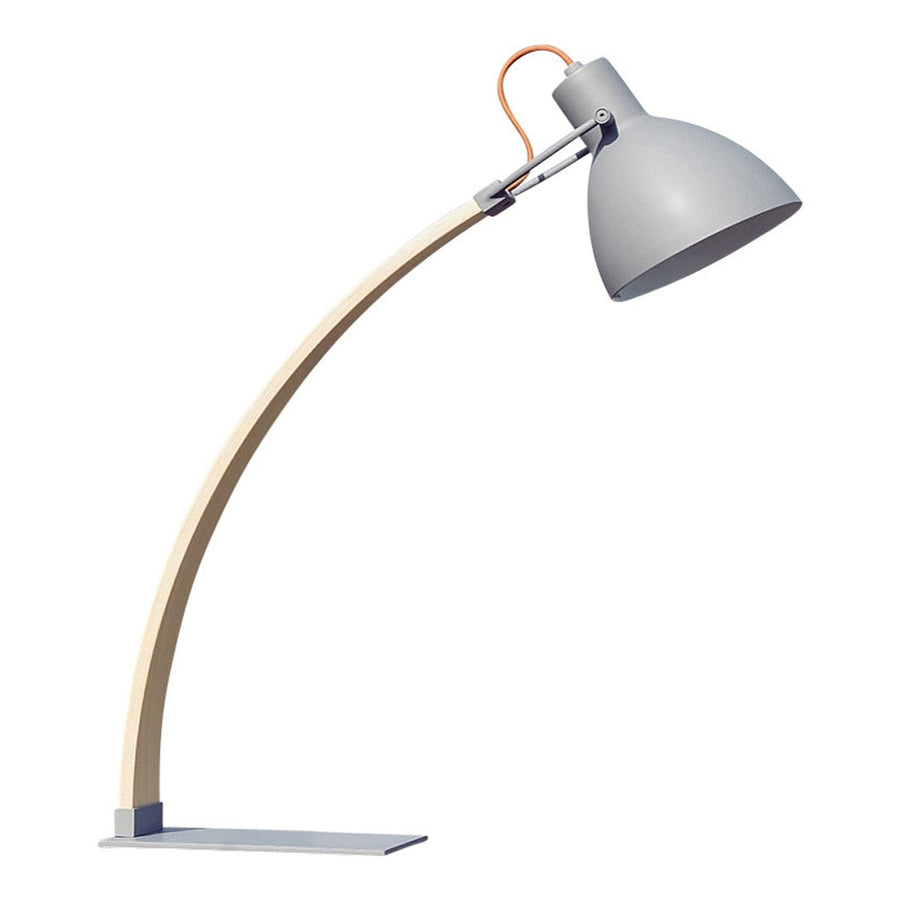 Laito Wood Table Lamp - Dark Grey