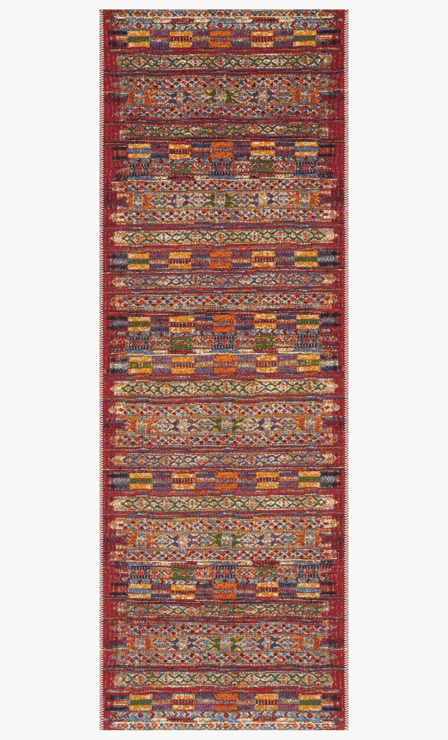 Mika Rug - Red / Multi
